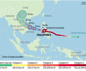 carte Haiyan