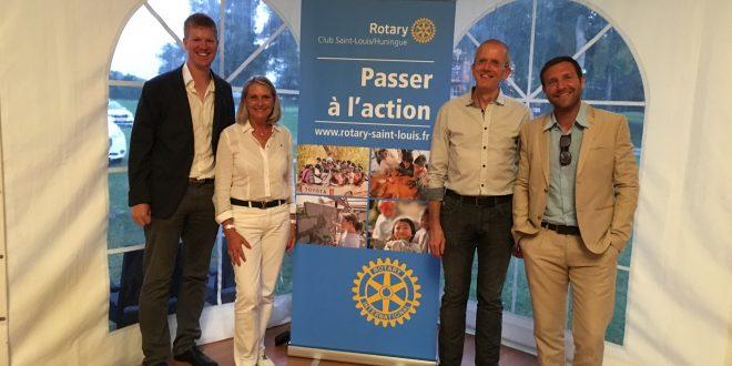 Merci au Rotary Club Saint Louis/Huningue pour sa grande générosité