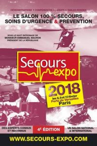Affiche Secours Expo 2018