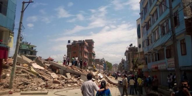 Fortes répliques au Népal