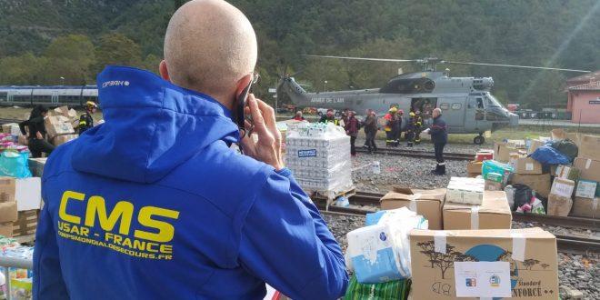 Mission intempéries Sud-Est